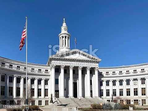 County courthouse in Denver, Colorado