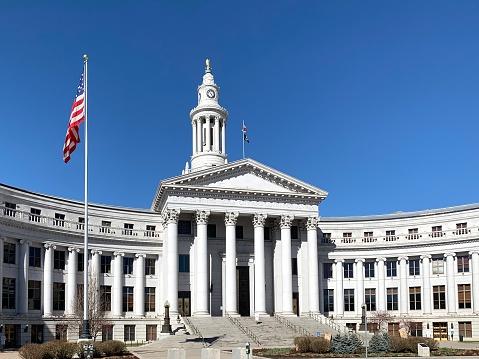 County courthouse in Denver, Colorado