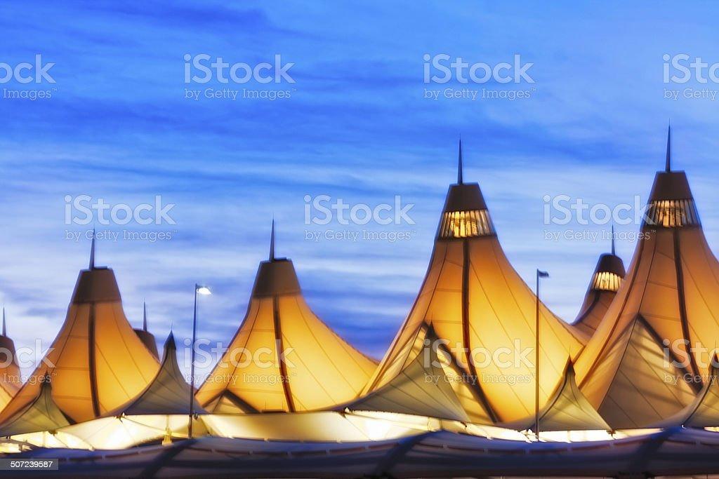 Aeroporto Internacional de Denver-DIA - foto de acervo