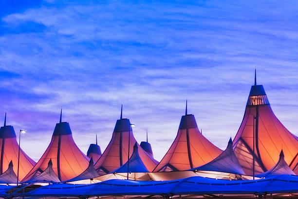 Denver International Airport - DIA stock photo