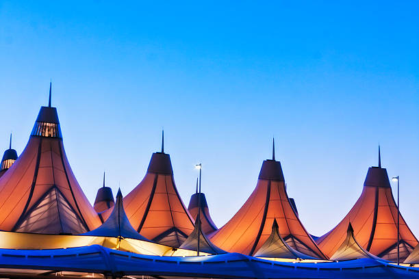 Denver International Airport - DIA stock photo