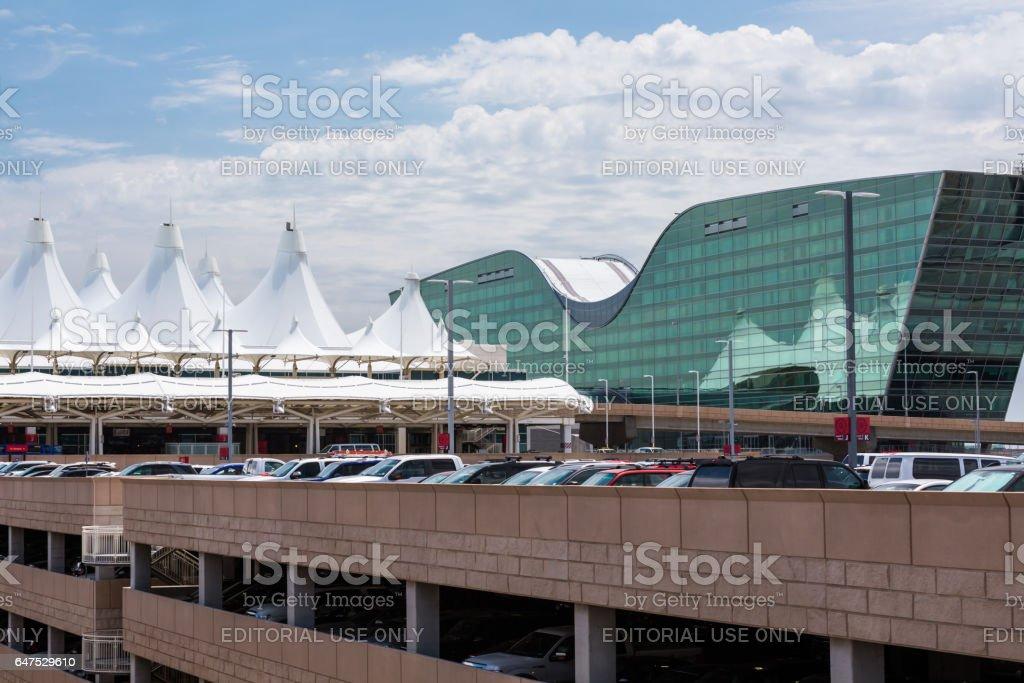 Denver International Airport - foto de acervo
