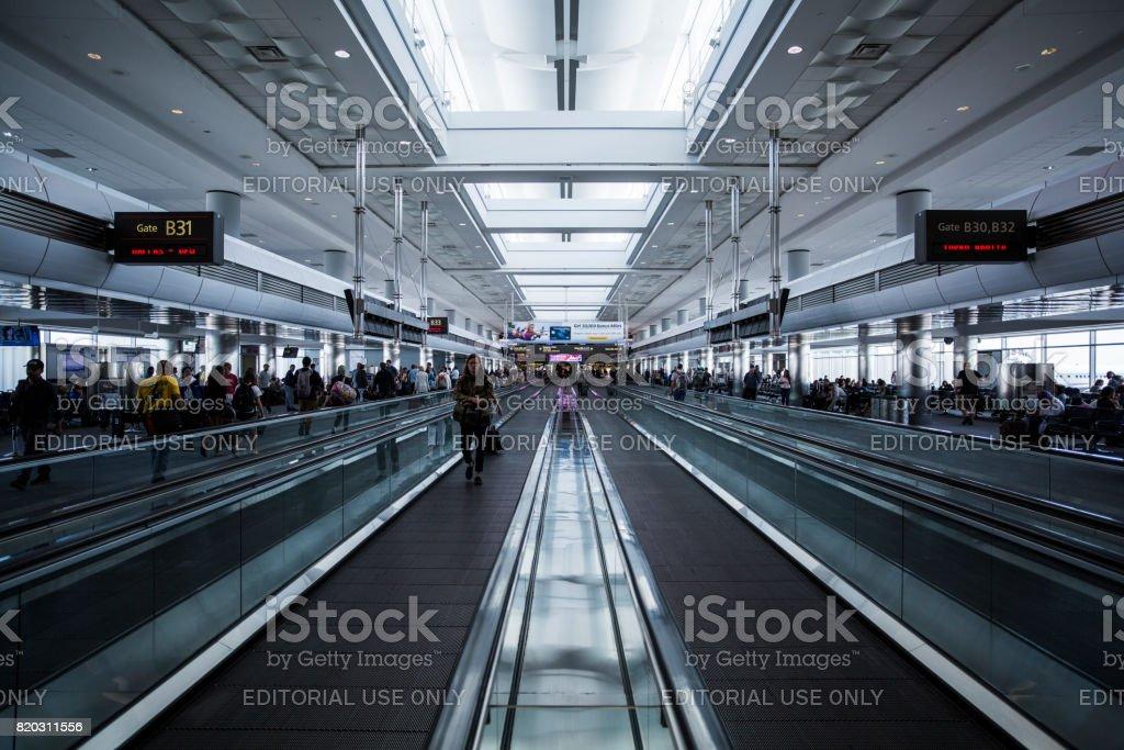 Aeroporto Internacional de Denver - foto de acervo