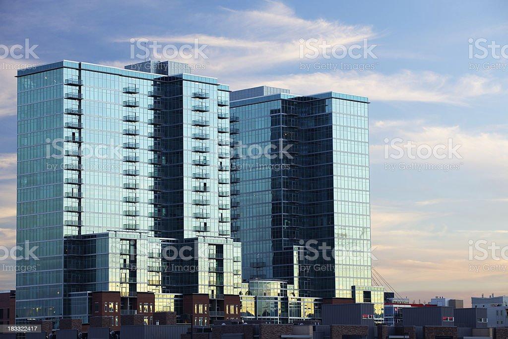 Denver Lofts stock photo