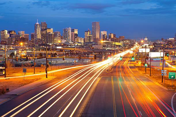 Denver. stock photo