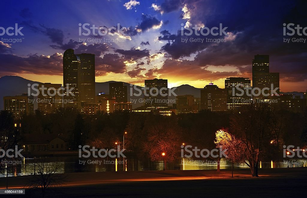 Denver stock photo