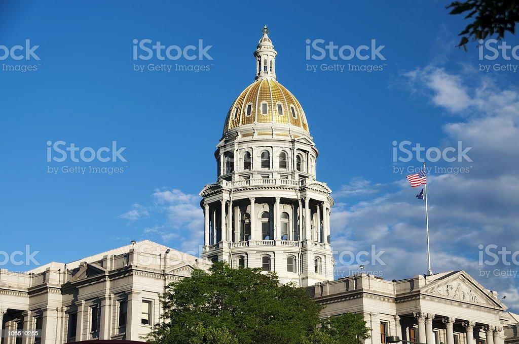 Denver State Capitol Building - Colorado royalty-free stock photo