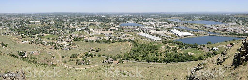Denver West royalty-free stock photo