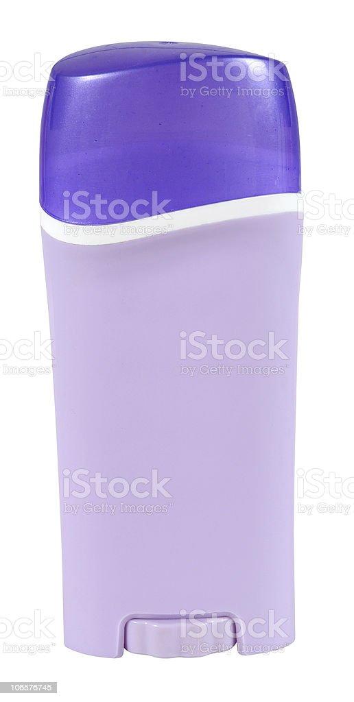 Deodorant. Isolated stock photo