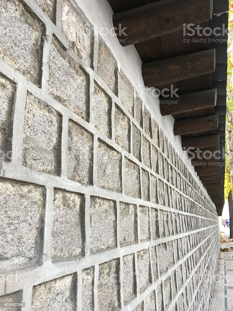 deoksugung palace wall photo libre de droits
