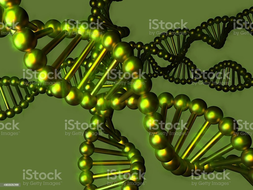 Deoxyribonucleic acid (DNA) stock photo
