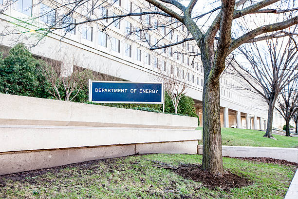 Depart of Energy Building The exterior of Department of Energy (DOE) in Washington DC. depart stock pictures, royalty-free photos & images