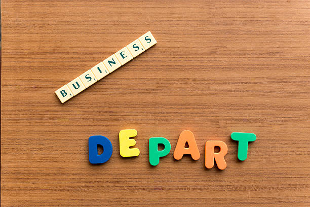 depart depart colorful word on the wooden background depart stock pictures, royalty-free photos & images