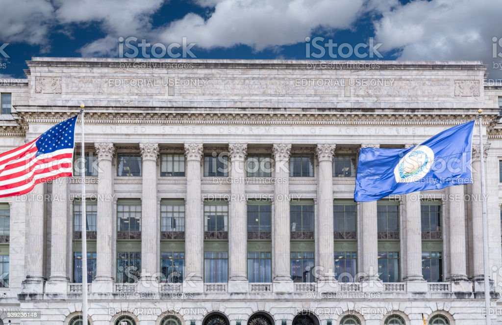 Department of Agriculture Building stock photo
