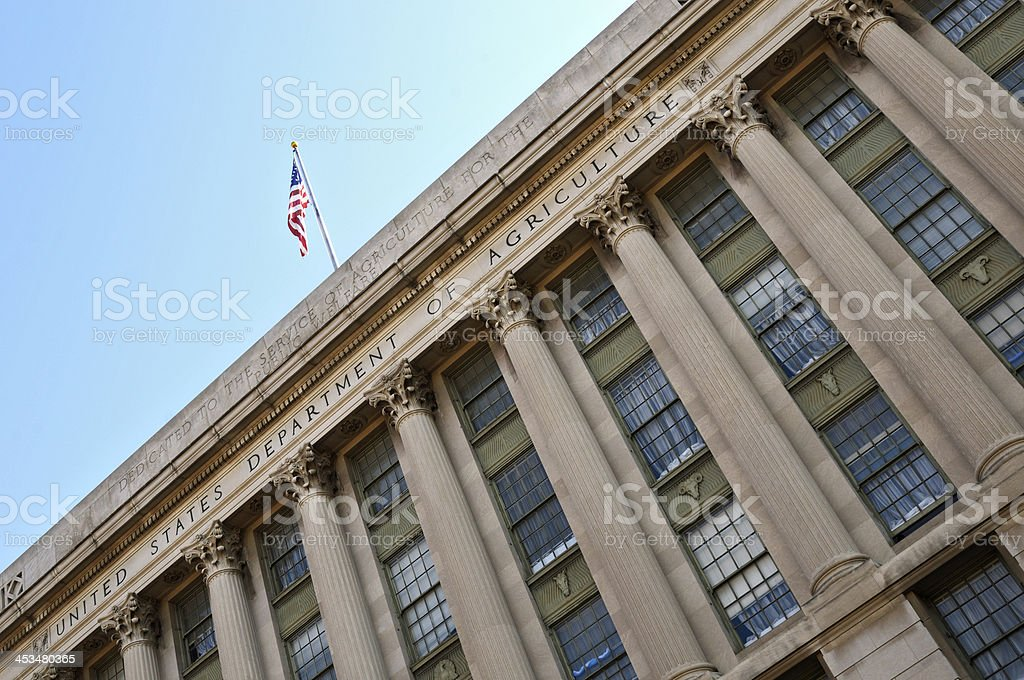 U.S. Department of Agriculture royalty-free stock photo