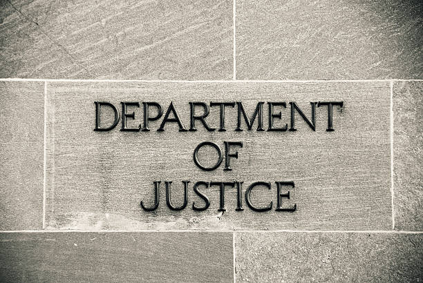 Department of Justice stock photo