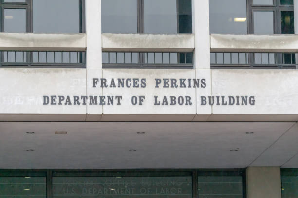 Department Of Labor Building stock photo