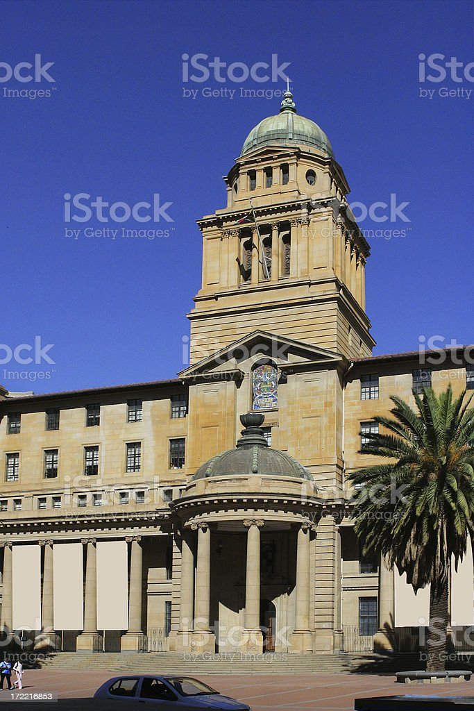 Department of Legislature, Johannesburg two royalty-free stock photo