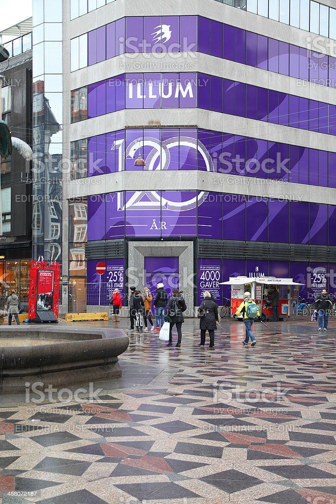 Department store in Copenhagen stock photo