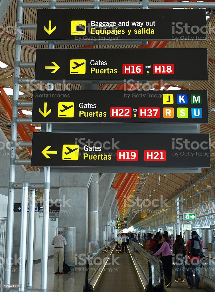 Zone des départs de l'aéroport de Madrid Barajas - Photo