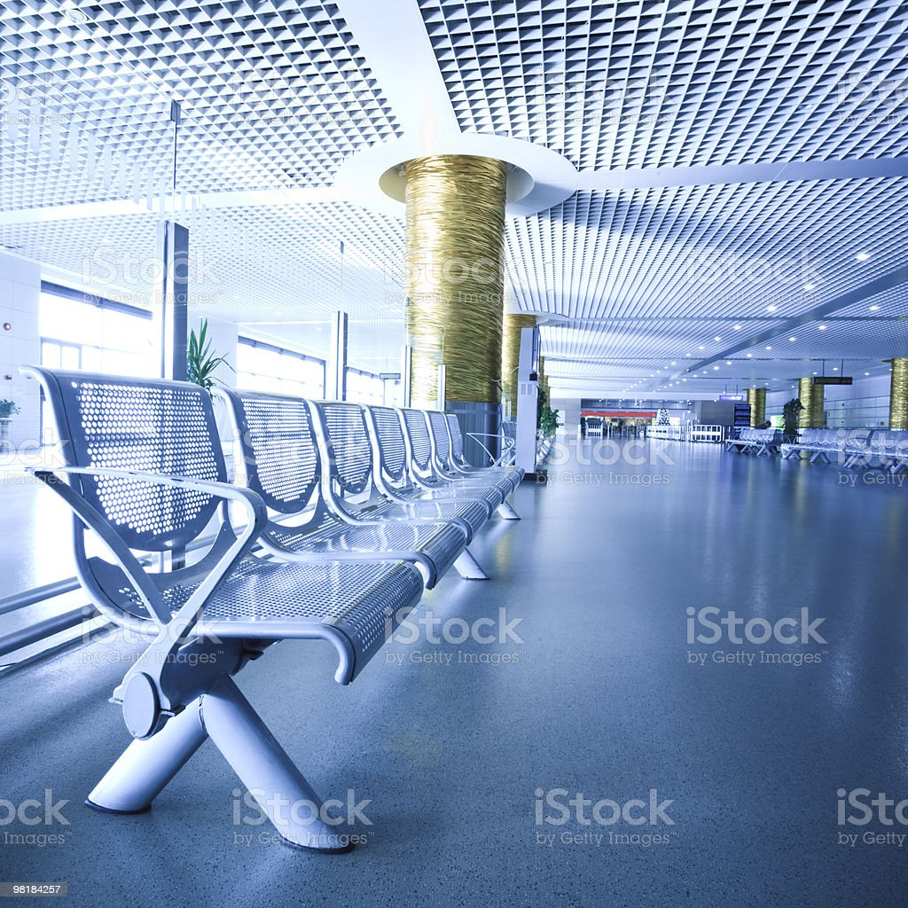 lounge per le partenze foto stock royalty-free