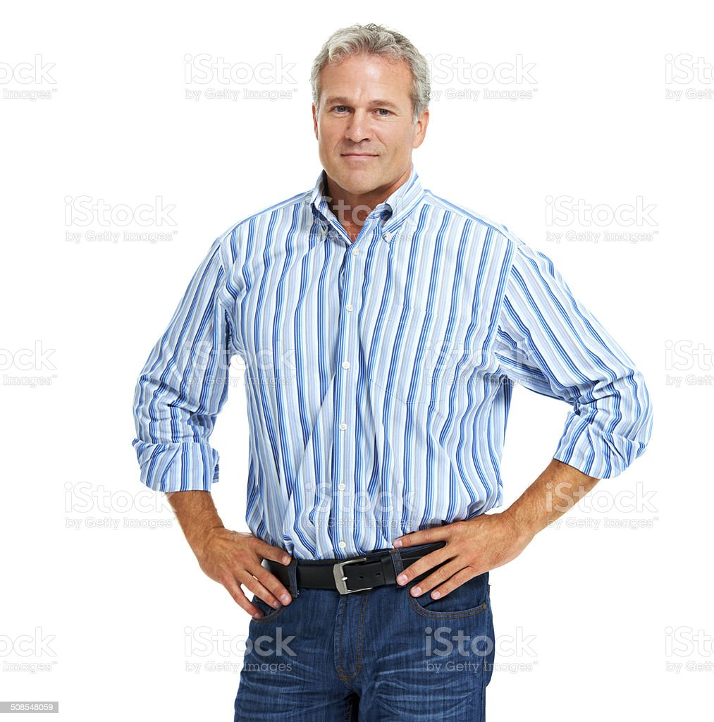 Dependable and decisive royalty-free stock photo