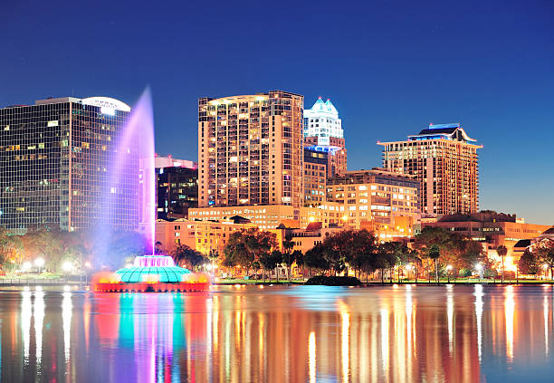 Depiction of orlando florida at nighttime lights picture id176980317?b=1&k=6&m=176980317&s=612x612&w=0&h=eujlvghzkk dhgwtpli54o7la uuokpumqxixu1ysku=