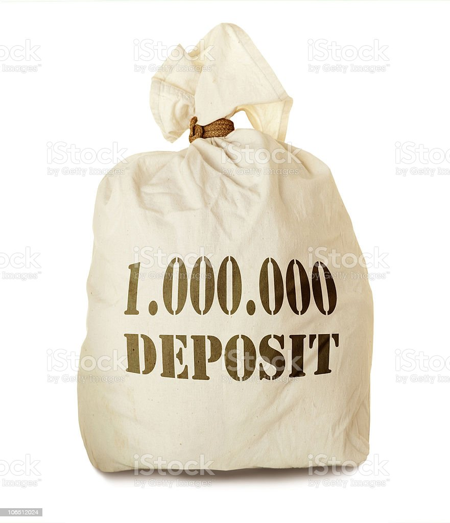 Deposit stock photo