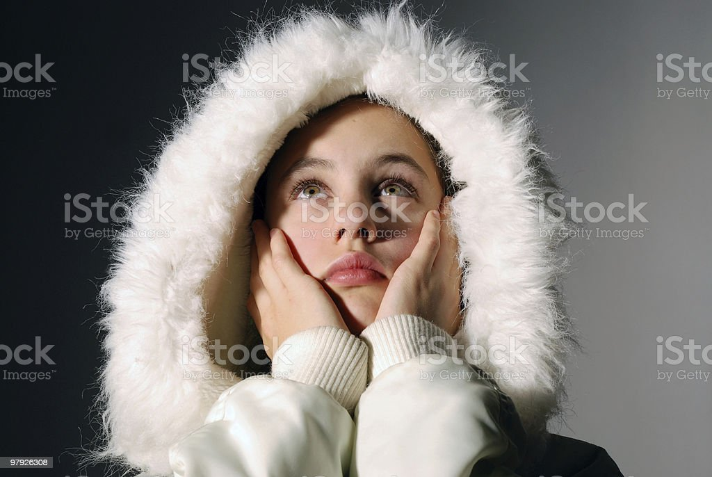 Depressed and lonely royalty-free stock photo