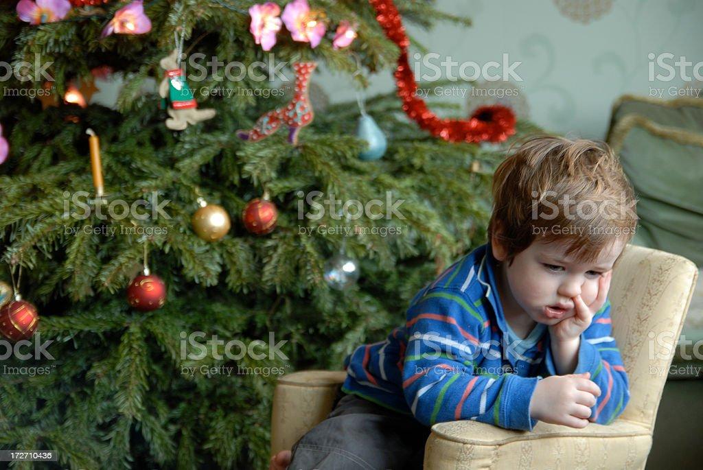Ein deprimierter Weihnachten – Foto