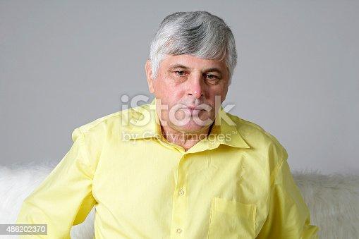 istock Depressed man 486202370