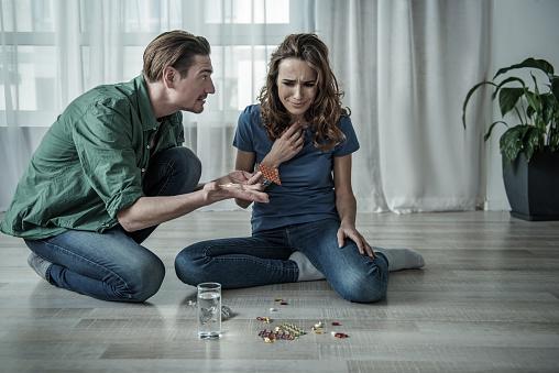 Depressed Wife Stock Photo - Download Image Now - iStock