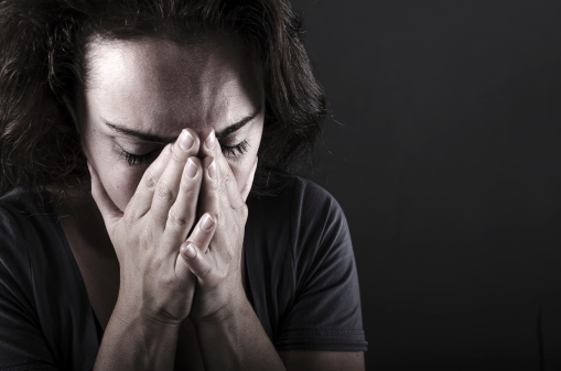 istock Depressed woman 453104097