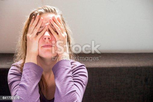 istock Depressed woman 641732276