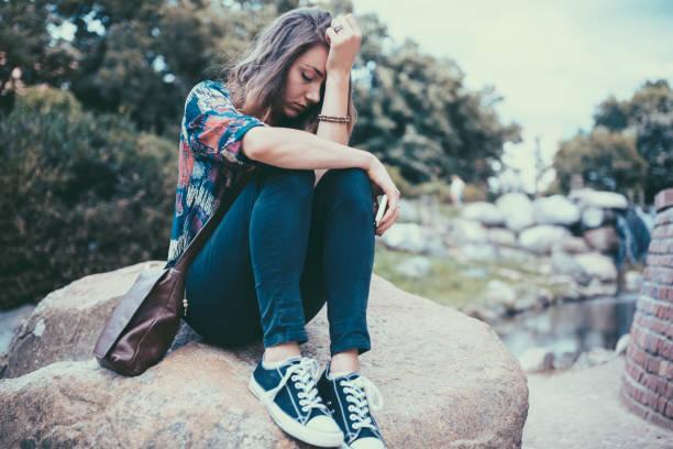 Best Lonely Sad Girl With Broken Heart Stock Photos ...