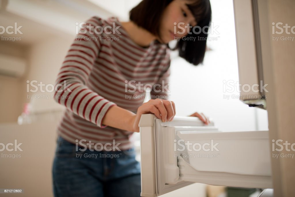 若い女性のうつ病のイメージ ストックフォト