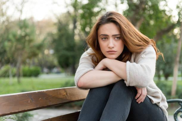 Dépression de femmes - Photo