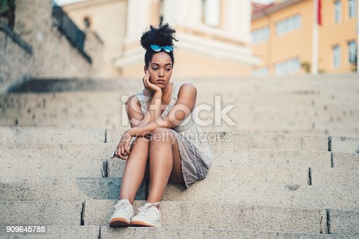 istock Depression in young people 909645788