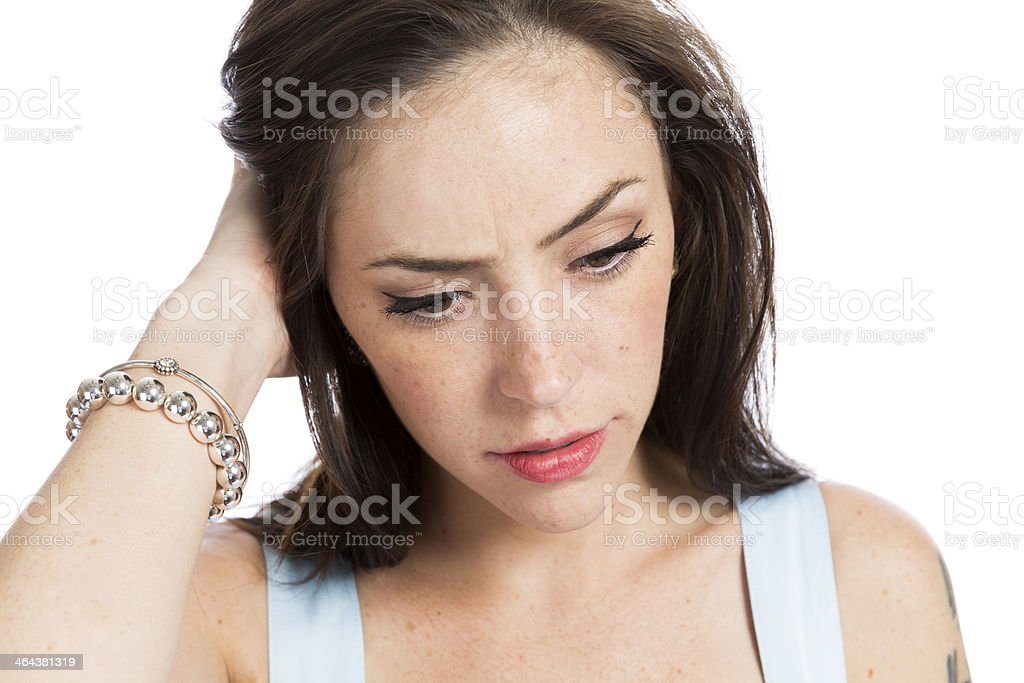 Depression. royalty-free stock photo