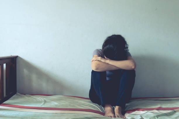 depresyon stok fotoğrafı