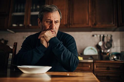 Depression-sadness, loss of appetite