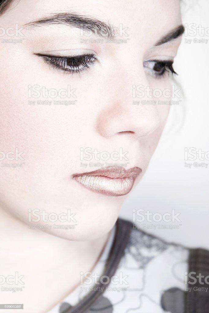 Depressive girl royalty-free stock photo