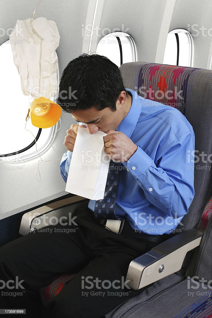 Depressurization stock photo
