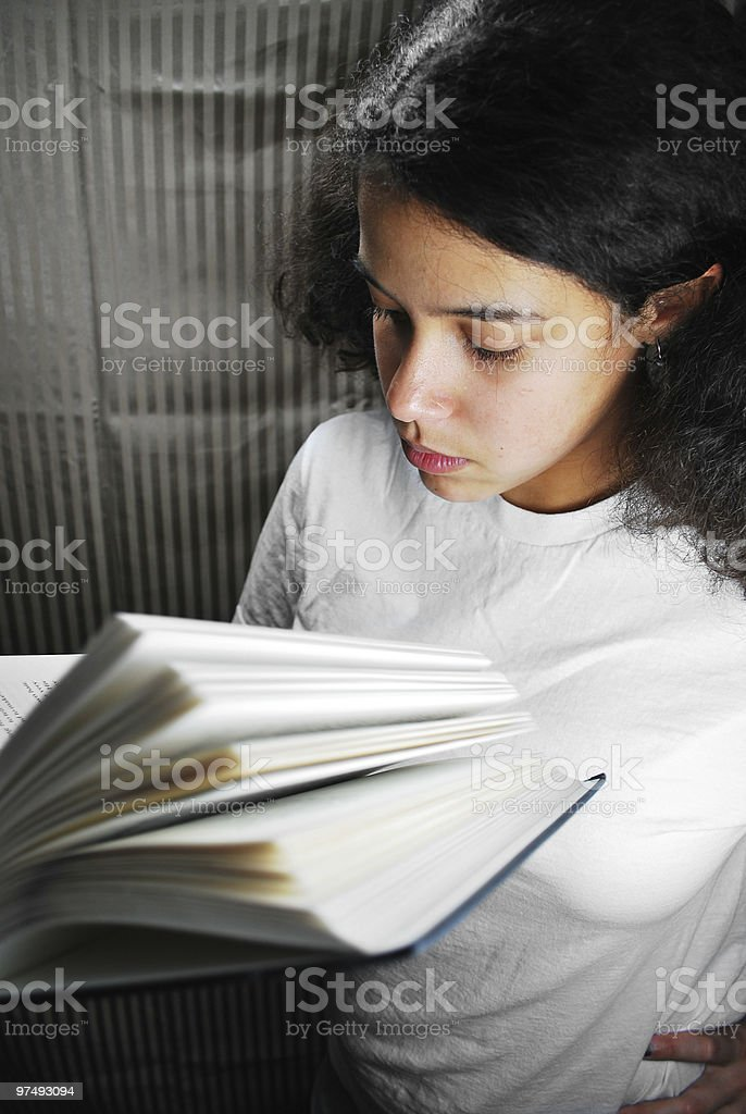 Depth of Reading royalty-free stock photo