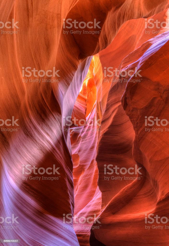 Depths of River Stone stock photo