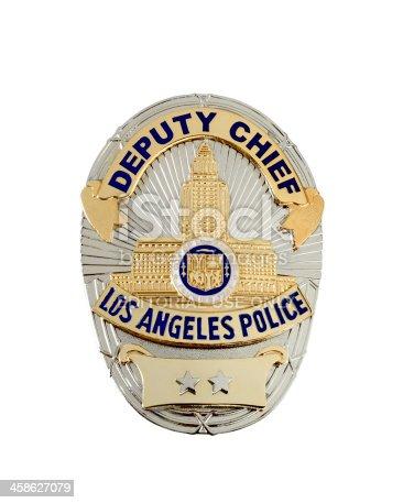istock LAPD Deputy Chief's badge 458627079