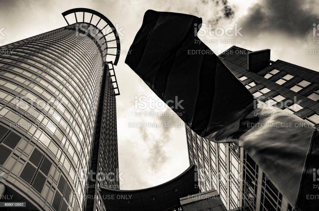 Der Sitz der DZ-Bank in Frankfurt Am Main (Westend-Tower) – Foto