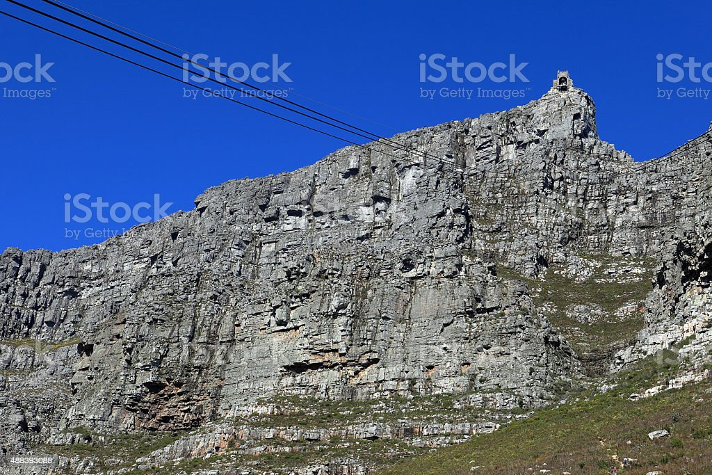 Der Tafelberg bei Kapstadt in Südafrika stock photo