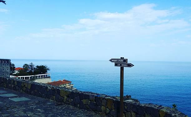 Der Weg ist das Ziel Teneriffa Nord ziel stock pictures, royalty-free photos & images