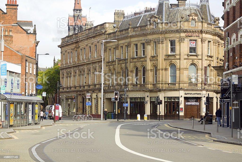 Derby city stock photo